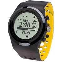 LifeTrak Brite R450 Heart Rate Watch (Black/Yellow)