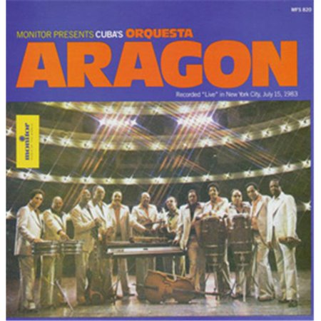 Smithsonian Folkways MN-00820-CCD Cubas OrQuesta Aragon Recorded Live in New York - image 1 of 1