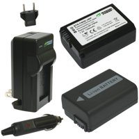Wasabi Power Kit-btr-fw50-lch-fw50 Sony Np-fw50 Battery 2-pack & Charger