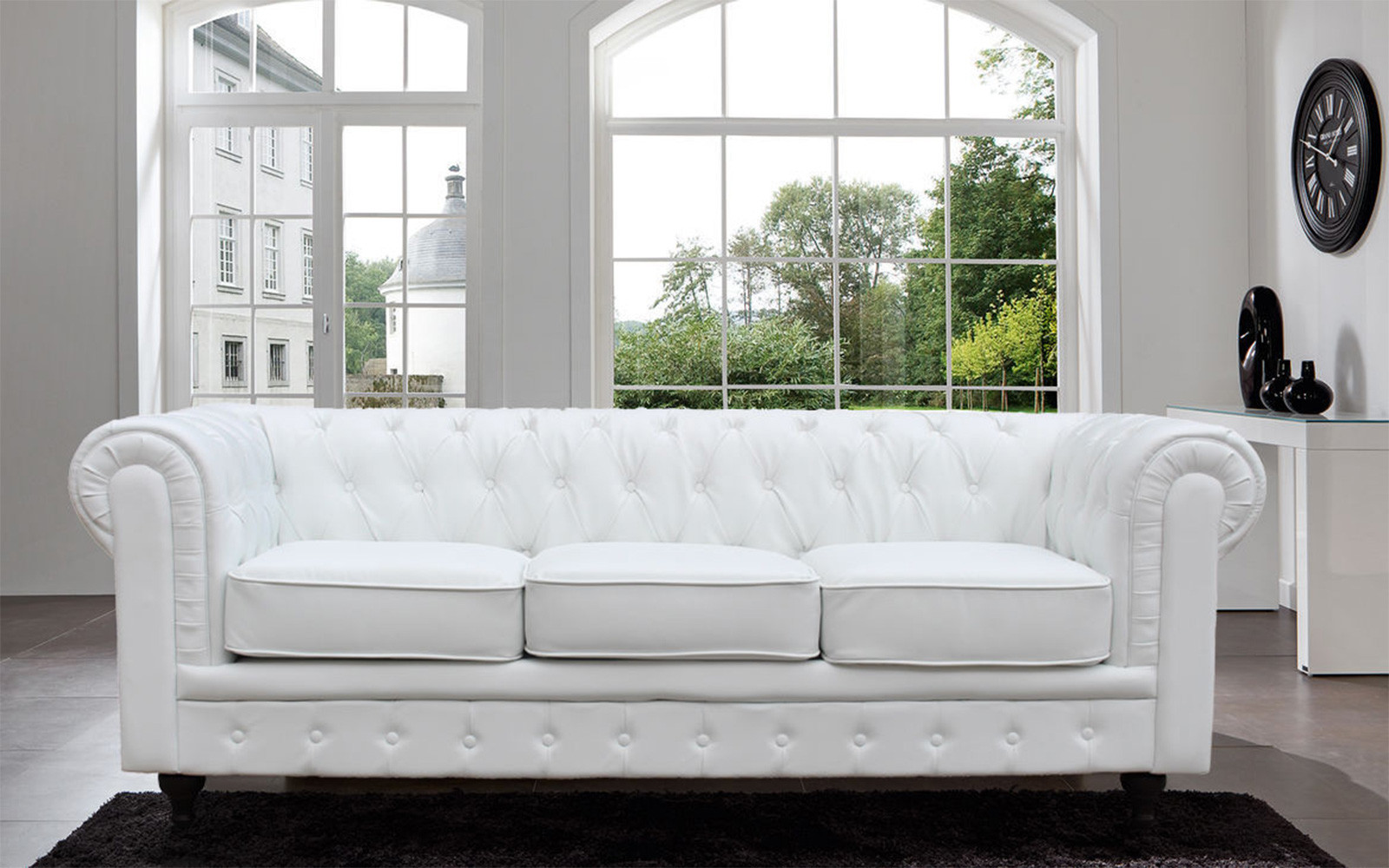 Chesterfield sofa modern braun  Product