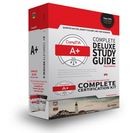 Comptia A  Complete Certification Kit  Exams 220 901 And 220 902  Paperback