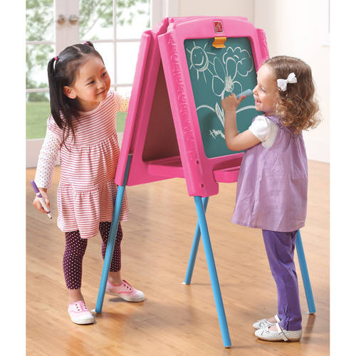 Step2 Sketch & Store Easel, Pink