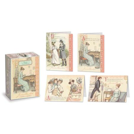 Jane Austen Note Cards Pride and Prejudice by