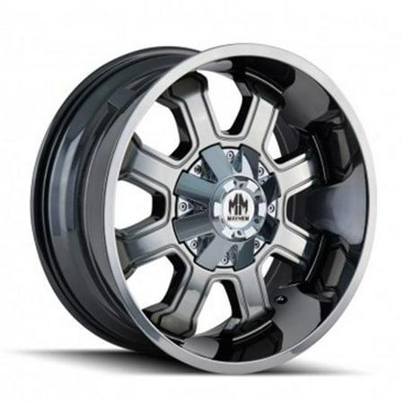 Mayhem 8103-2937P2D 6-135, 6-139.7 PCD Fierce Chrome Wheel - image 1 of 1