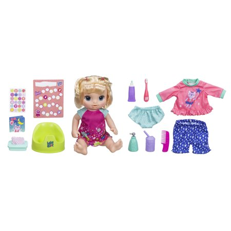 Baby Alive Potty Dance Exclusive Value Pack Blonde