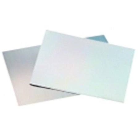 St Louis Crafts Rectangle Smooth Aluminum Etching Plate - 6 x 9 in. - Mirror