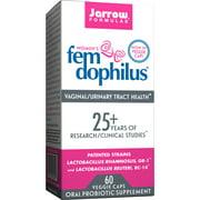 Jarrow Formulas Fem-Dophilus, For Natural Vaginal/Urinary Tract Health, 5 Billion Cells, 60 Veggie Caps