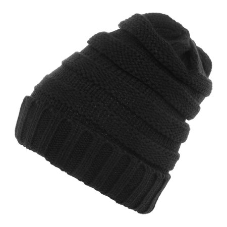 41acd1c2 DG Hill - DG Hill Winter Hat For Women Slouchy Beanie Hat Chunky Knit  Stocking Cap Soft Warm Cute - Walmart.com