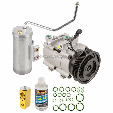 Kia Optima Hyundai Sonata - AC Compressor w/ A/C Repair Kit For Hyundai Sonata & Kia Optima Magentis