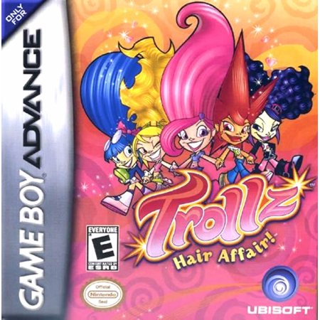 Trollz: Hair Affair - Game Boy Advance