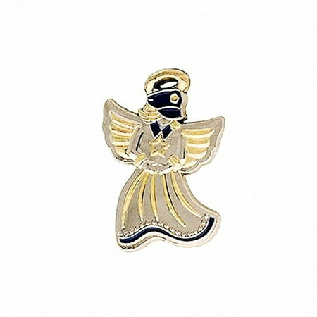 Police Guardian Angel Pin - Small Angel Pin