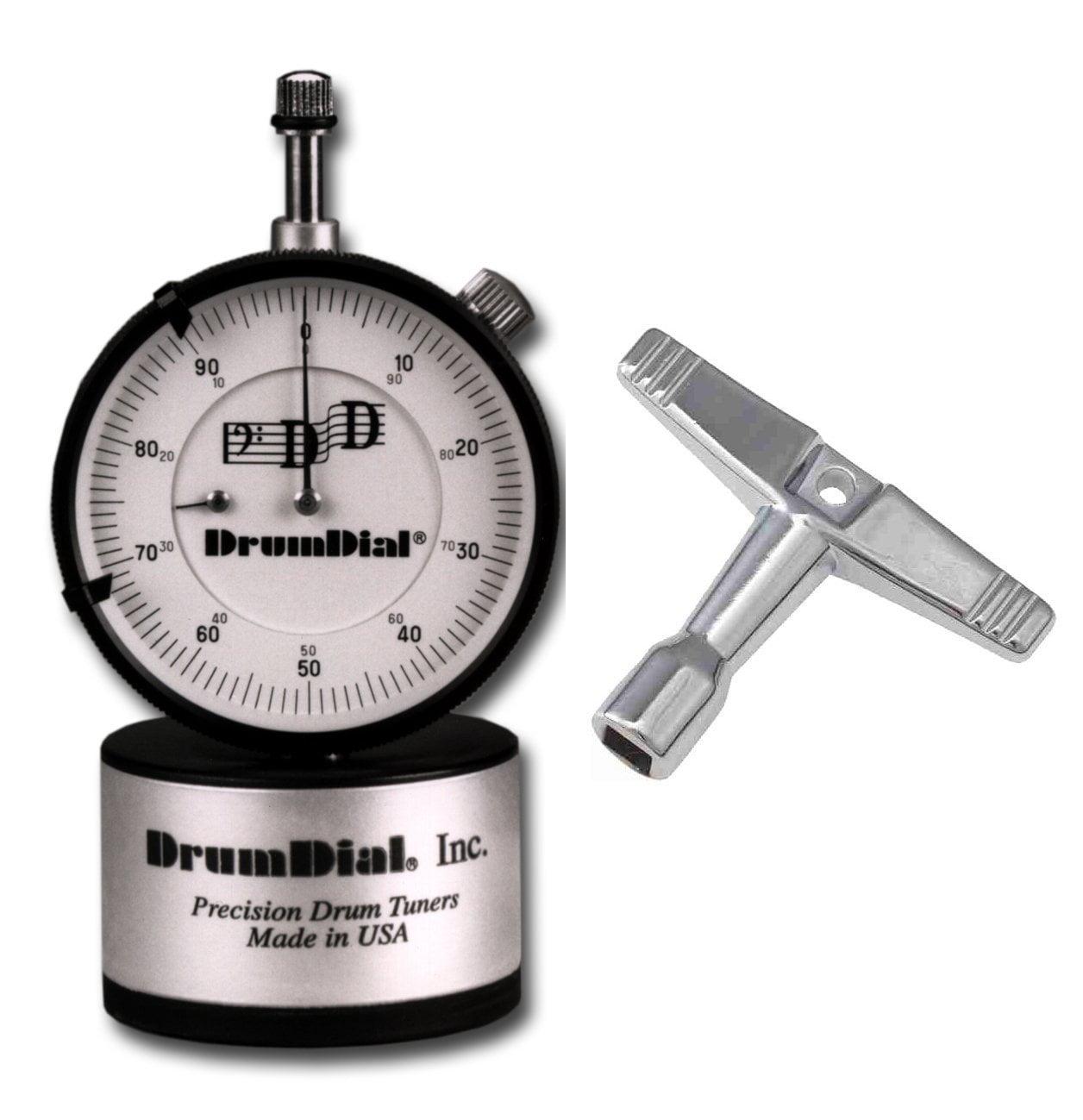 Drum Tuner with Standard Drum Key By Drumdial by