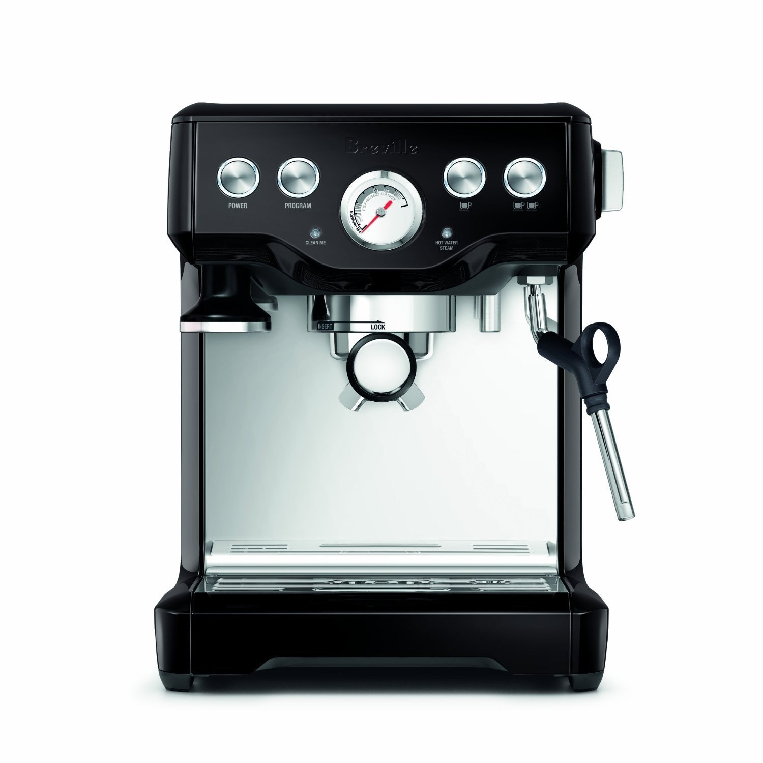 Click here to buy Breville BES840BSXL The Infuser Espresso Machine (Black Sesame) by Breville.