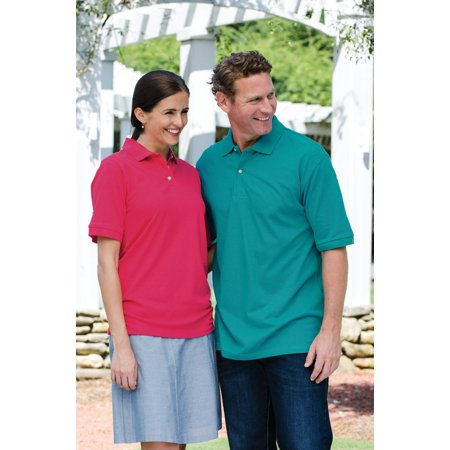 7201 Ladies Basic Import Pique Polo Shirt-Navy-XL - Red Undergarments