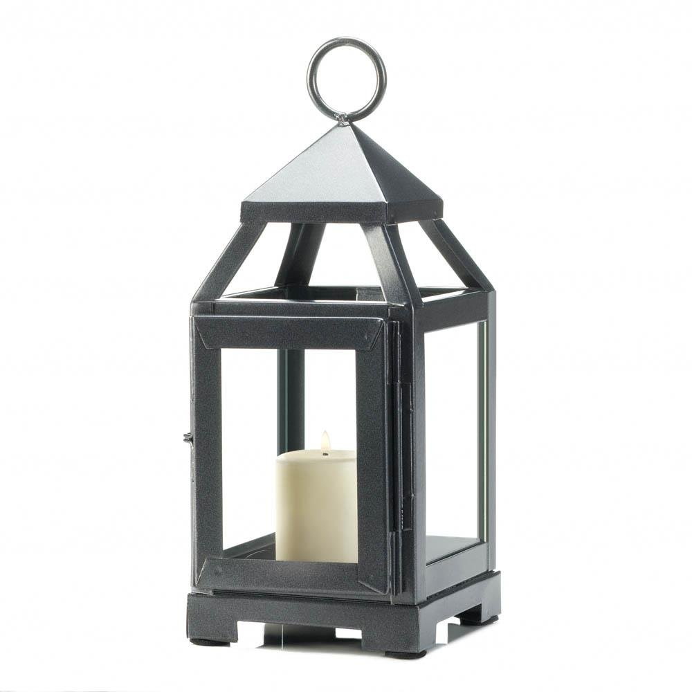 Decorative Lanterns For Candles Patio Rustic Mini Metal Candle Lantern Holder Sold By Case Pack Of 12 Walmart Com Walmart Com