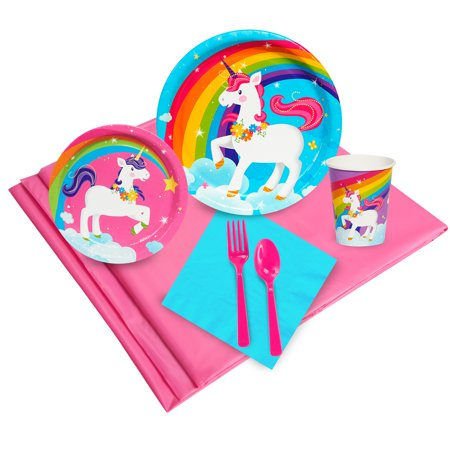 Fairytale Unicorn Party Party Pack (24) - Unicorn Party Ideas