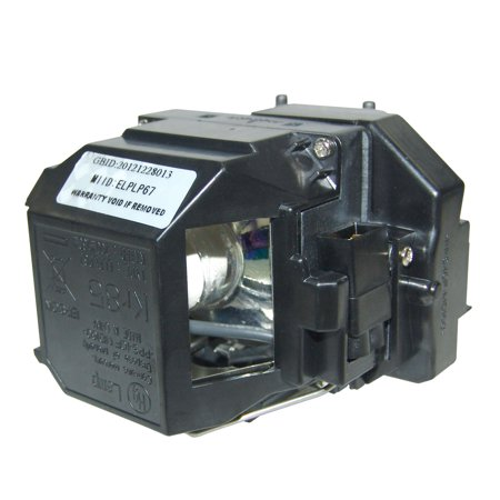 Original Osram Projector Lamp Replacement with Housing for Epson PowerLite Home Cinema 710UG - image 2 de 5