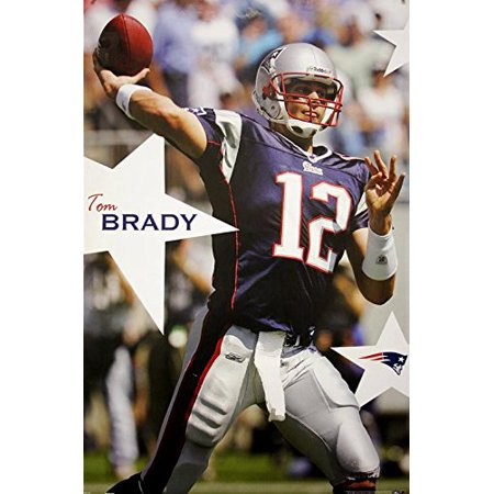 Exclusive New England Patriots Tom Brady 22X34 Poster  Limited Qty Left