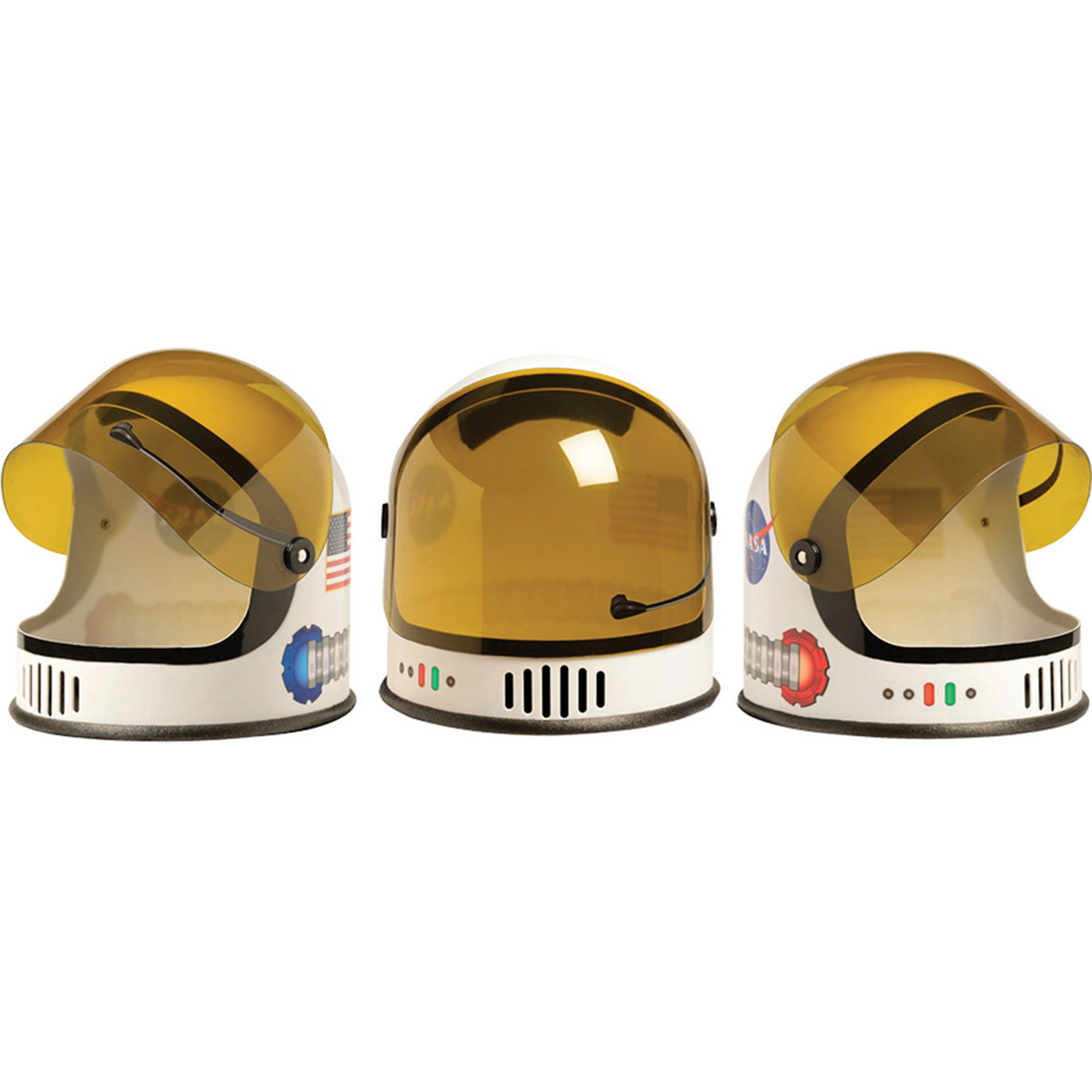 Morris Costumes New Space Flight Astronaut Helmet Ages 3 To 10 Hat, Style ARASHELMET