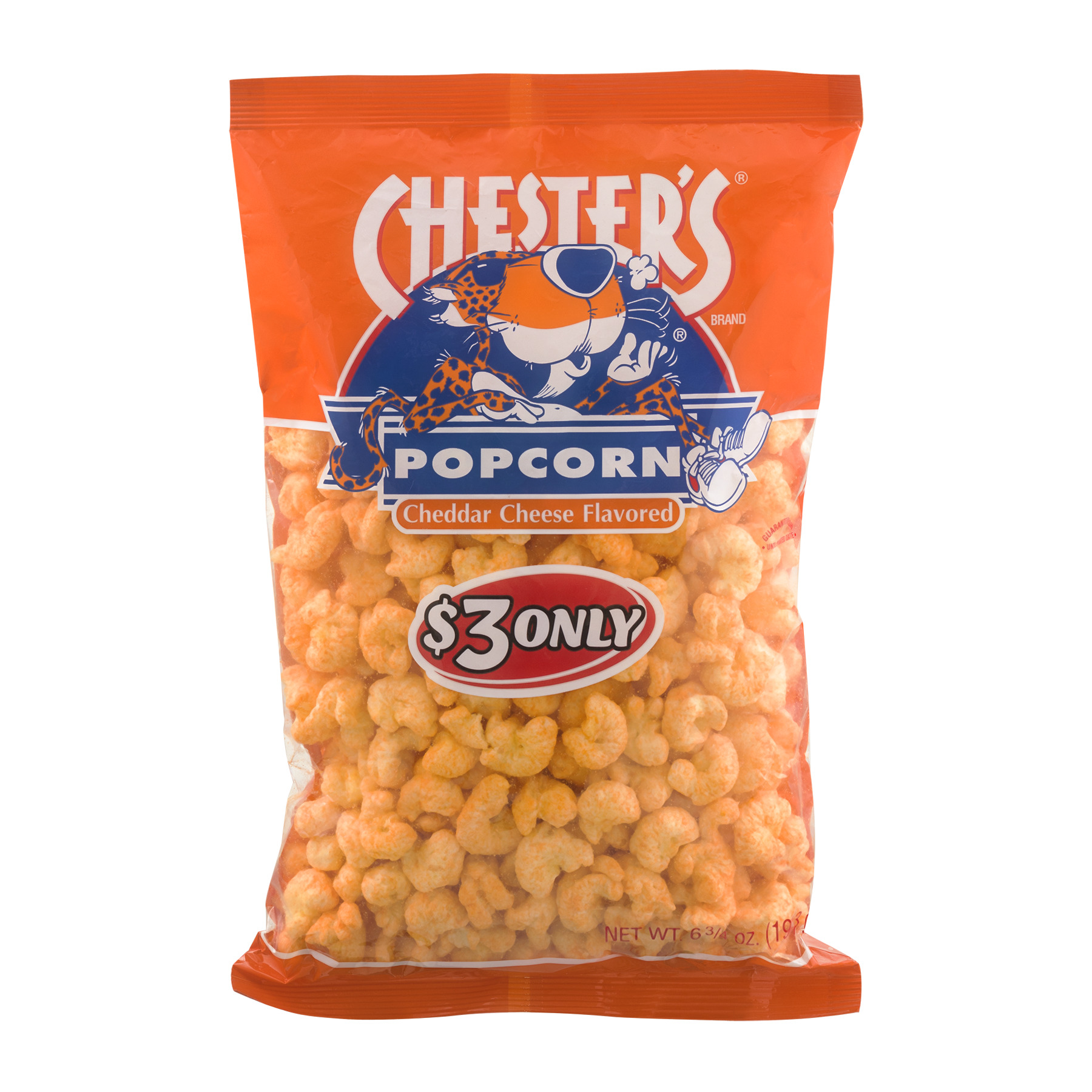 Chester's Popcorn Cheddar Cheese Flavored, 6.75 OZ
