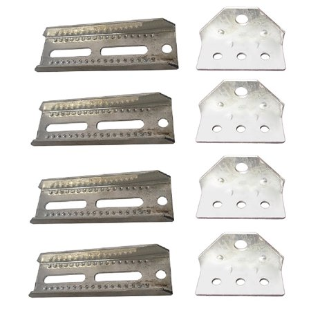 Four (4) New Aftermarket Replacement Bunk Board & Bracket Kits Made to Fit Many Boat Trailer Models. (Model Boat Parts)