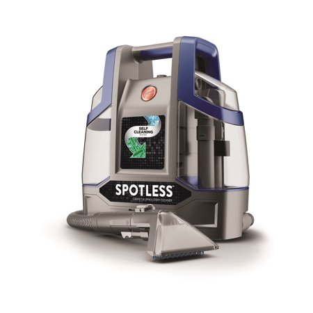 - Hoover Spotless Deluxe Carpet Cleaner, Blue Spotless Deluxe
