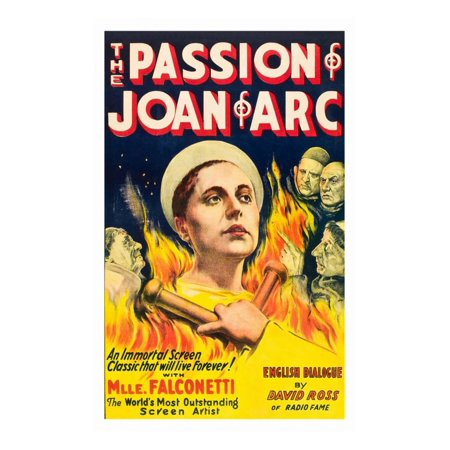 The Passion of Joan of Arc Print Wall Art (Joan Of Arc Cheese)