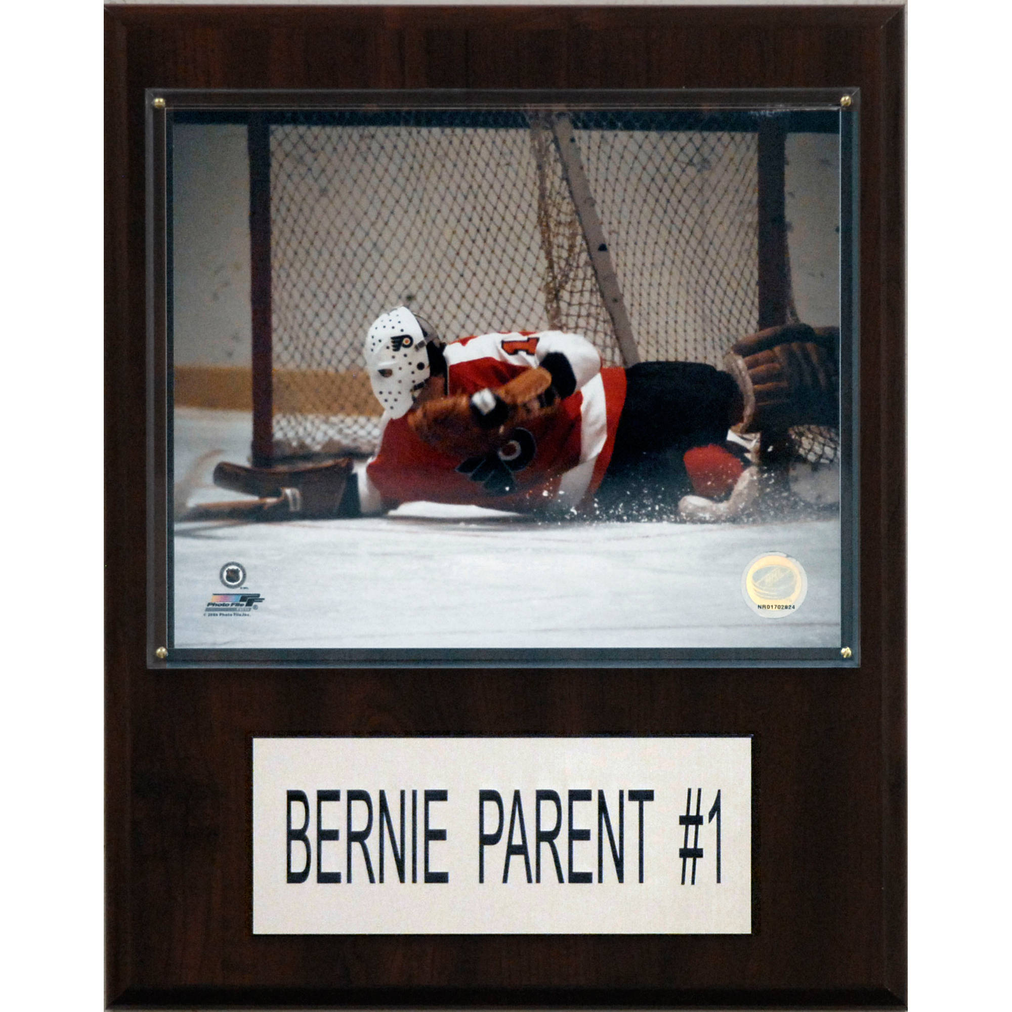 C&I Collectables NHL 12x15 Bernie Parent Philadelphia Flyers Player Plaque