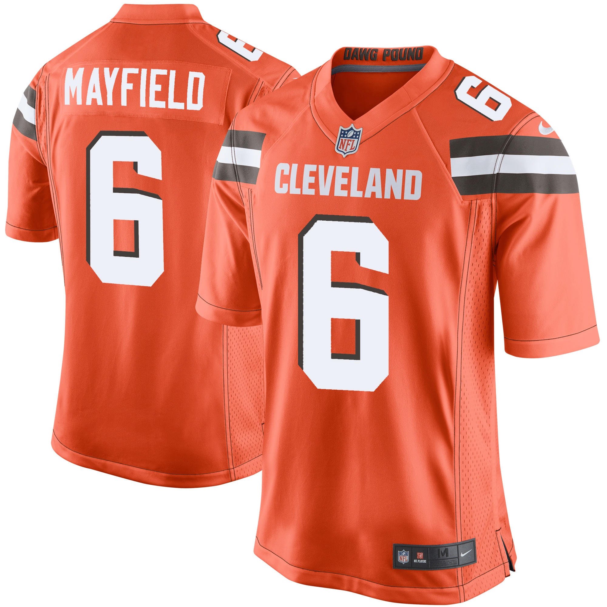 baker mayfield browns jersey youth