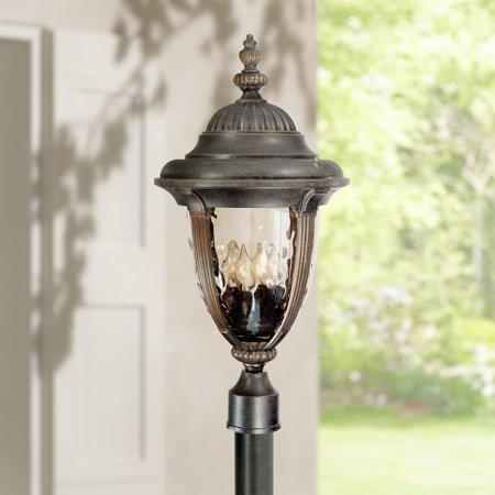 John Timberland Traditional Outdoor Light Post Fixture Veranda Bronze 24 1/2