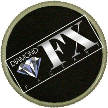 Diamond FX Essential Face Paint - Black (30 gm) - Simple Halloween Face Paint For Girls