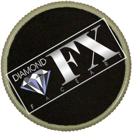 Diamond FX Essential Face Paint - Black (30 gm)](Football Face Paint)