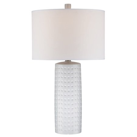 Lite Source Diandra 1 Light Table Lamp  - White