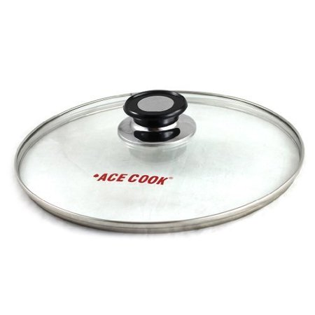 Tempered Glass Lid for Pot & Pans with Vent Hole, 24 cm