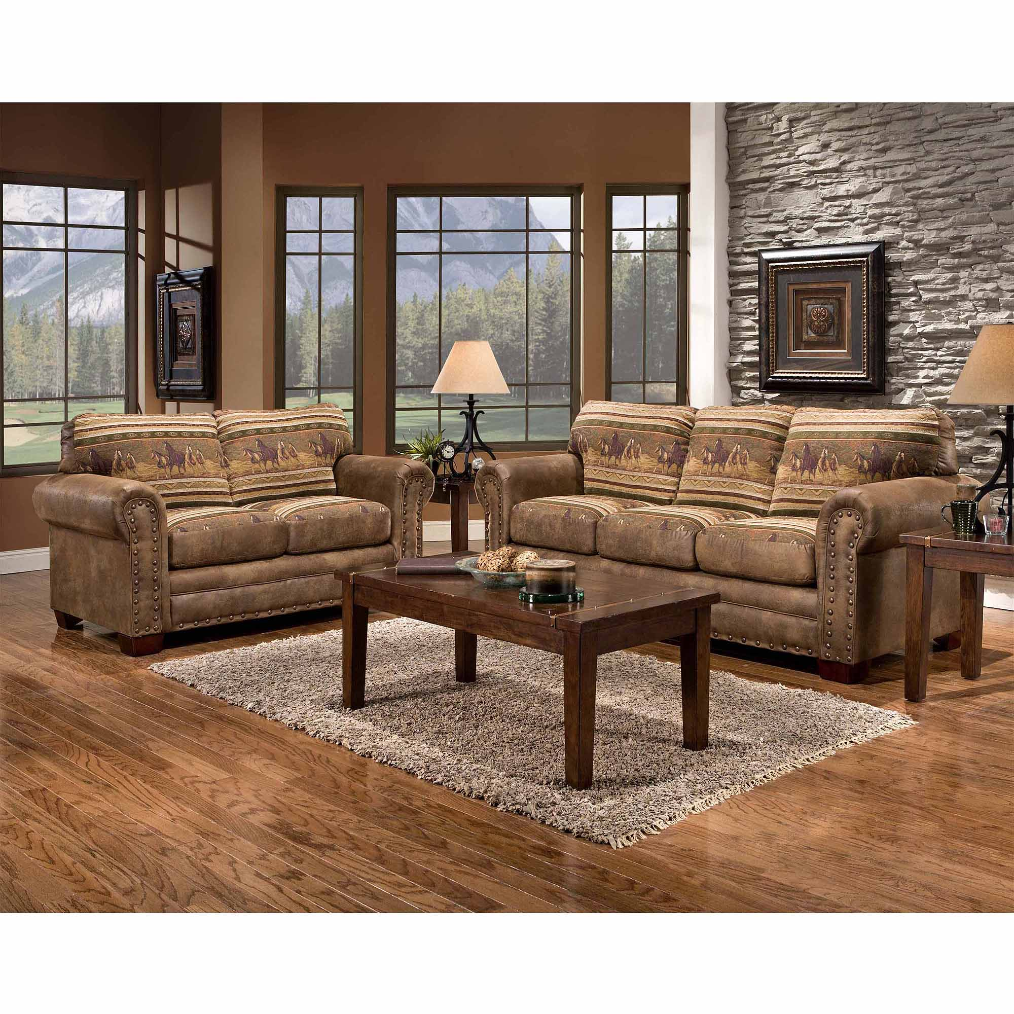 American Furniture Classics Wild Horses 4 Piece Set Walmart