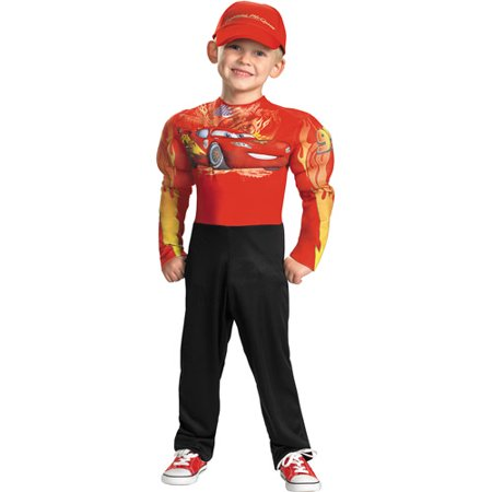 Cars 2 Lightning McQueen Classic Muscle Child Halloween Costume