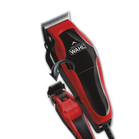 Forster Case Trimmer - Wahl 20 Piece MultiCut Hair Clippers Set with Built-In Trimmer and BONUS FREE CLOVER HILL Storage Case Included