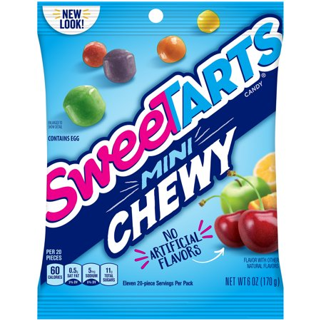 SWEETARTS Mini Chewy Candy 6 oz. Bag