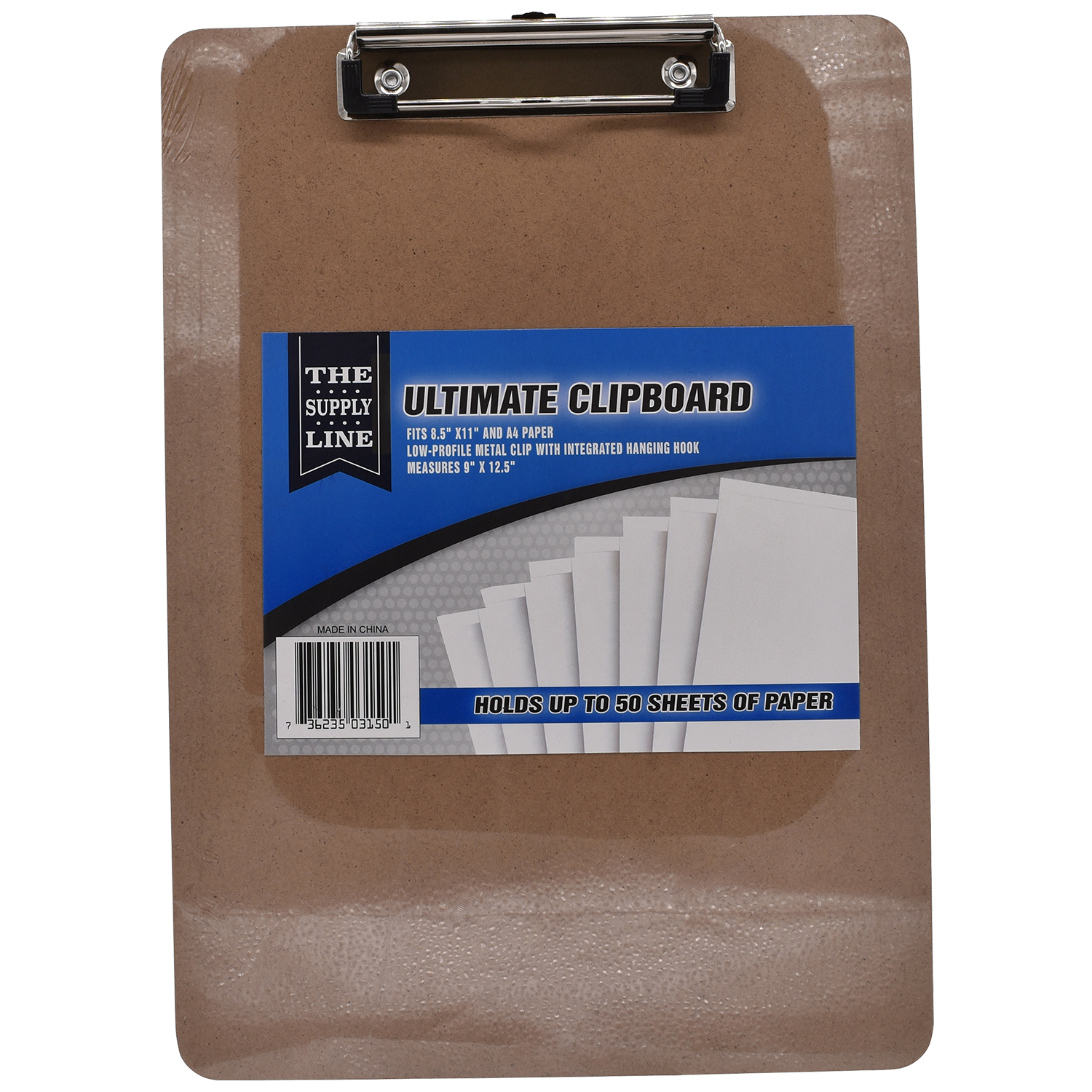 The Supply Line Ultimate Clipboard, 8.5 in. x 11 in.