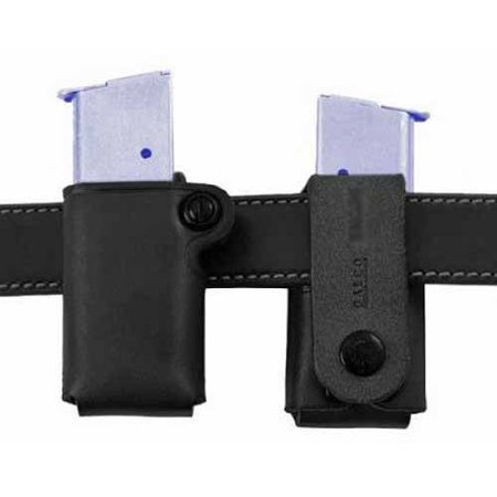 Galco Single Mag Case - GALCO SINGLE MAG CASE SNAP 22B FITS BELTS UP TO 1.75