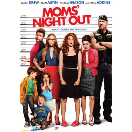 Moms' Night Out (DVD) - Halloween Date Night Movies