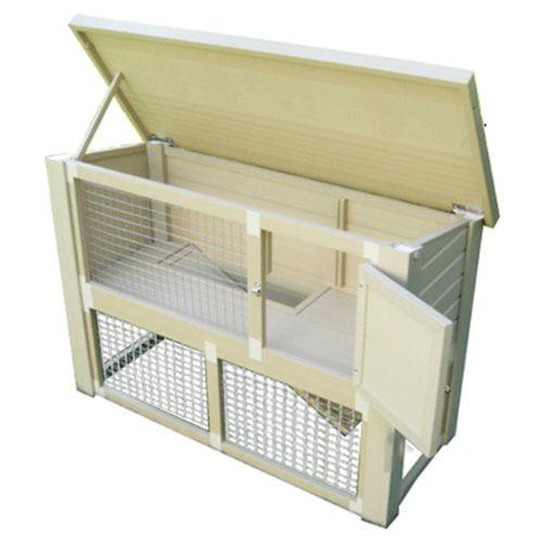 New Age Pet ecoChoice Columbia Rabbit Hutch ERH303