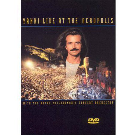 Yanni Live At The Acropolis  Music Dvd