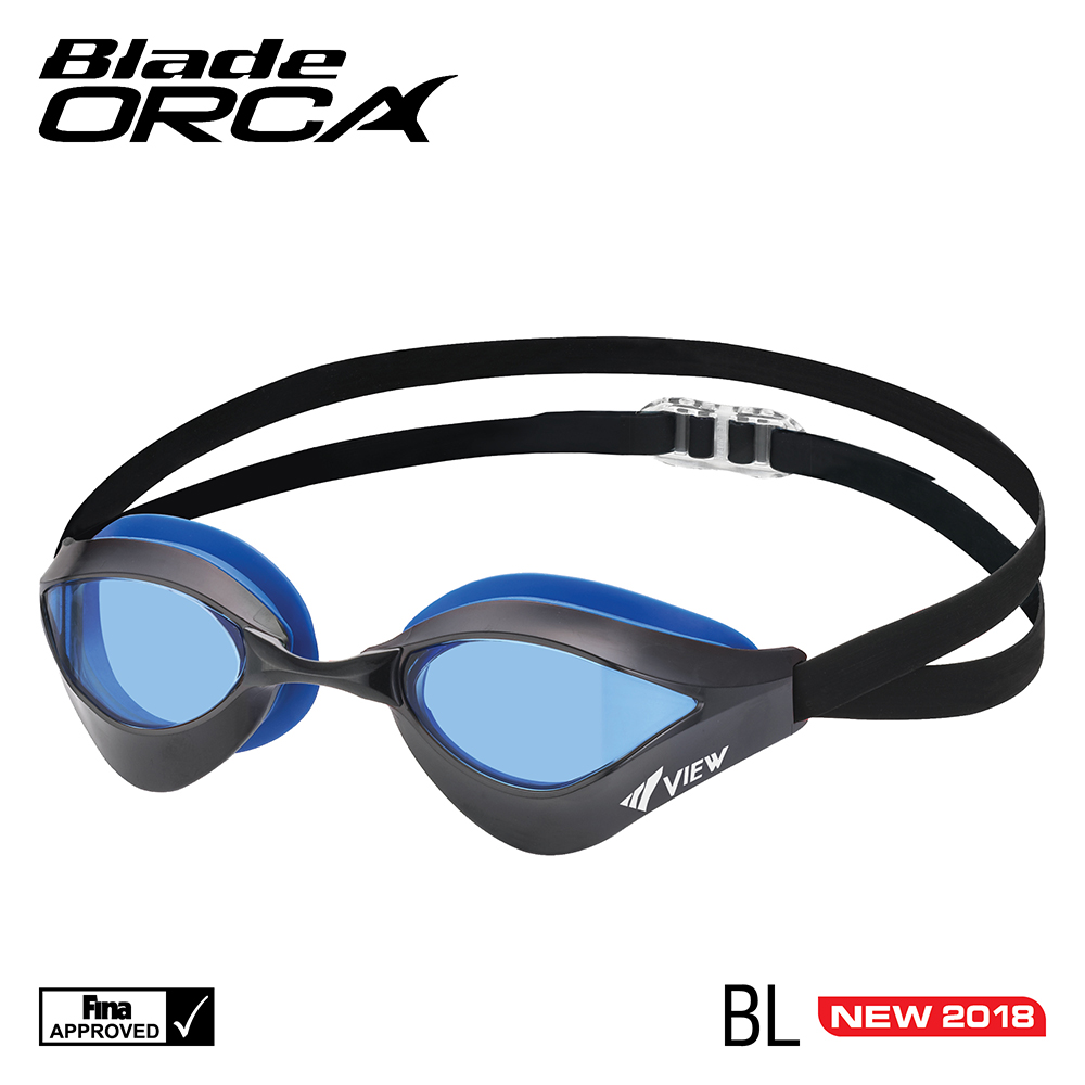 VIEW Swimming Gear Blade Orca Racing Goggle