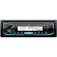 JVC Mobile KD-X35MBS Marine/Motorsports Single-DIN In-Dash AM/FM Digital Media Receiver with Bluetooth & SiriusXM Ready