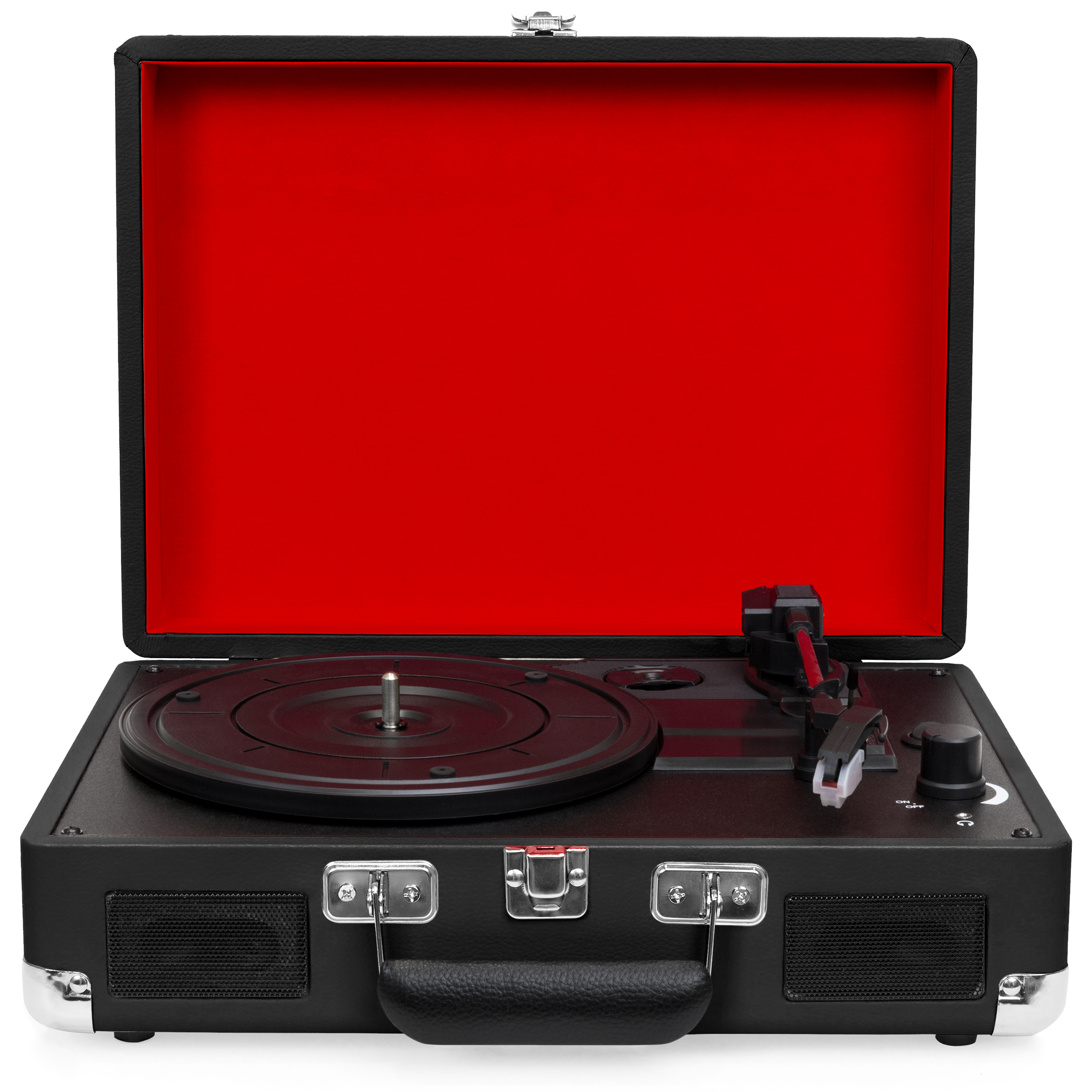 Best Choice Products 3-Speed Portable DJ Turntable Record Player w  Bluetooth and Stereo... by Best Choice Products