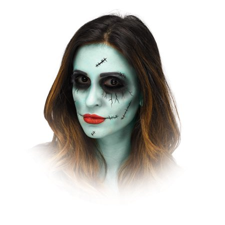 Dead Dolly Halloween Makeup Kit By Fun World](Easy Halloween Jester Makeup)