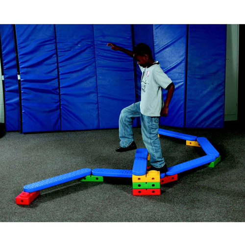 Kiddies Paradise Abilitations Integrations On-The-Move Climbing and Balancing System Set with Storage Bag by Kiddies Paradise