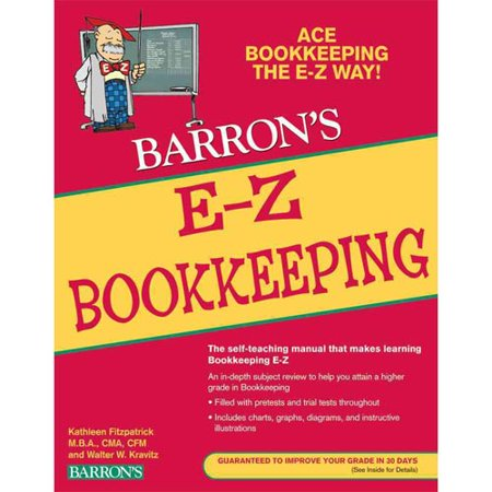 Barrons E-Z Bookkeeping by