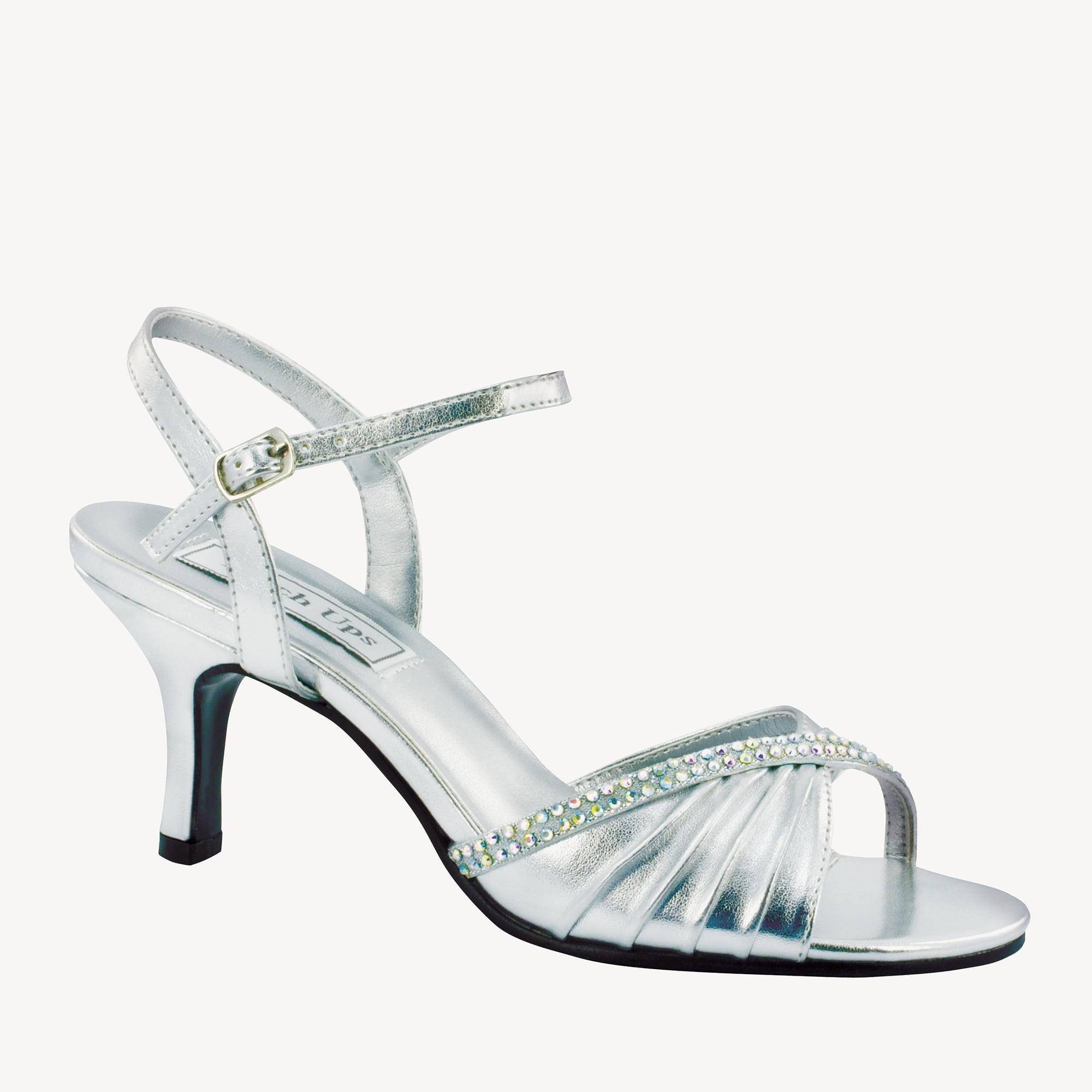 Benjamin Walk 539WO_10.5 Val Shoes Wide in Silver Metallic - Size 10.5